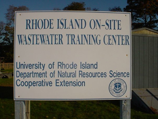 This is Rhode Island Wastewater Training Center where we were featured