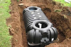 Installing a septic tank in North Castle NY by All-Pro Rooter