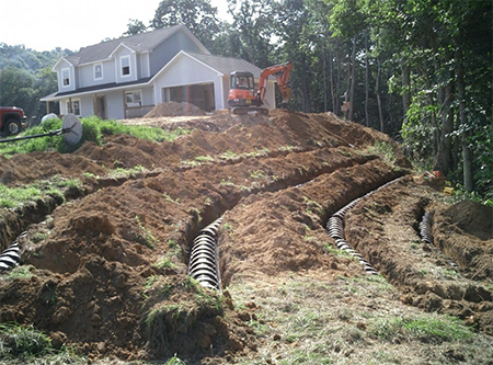 We offer septic system installation and repair in North Castle